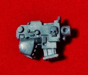 Space Marine Commander right hand Bolt Pistol